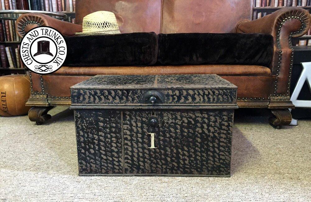 Vintage Deed Box