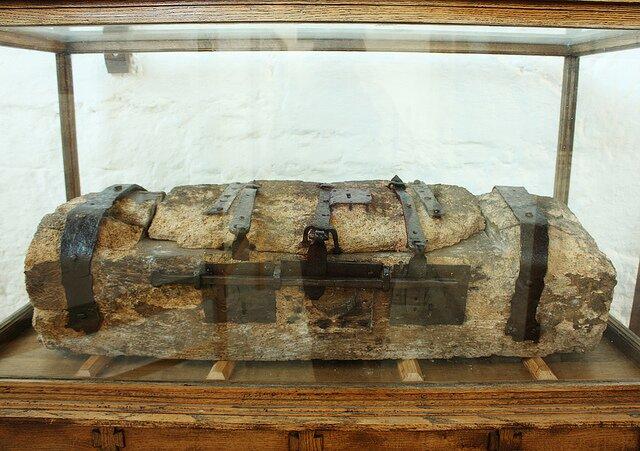dugout wooden chest
