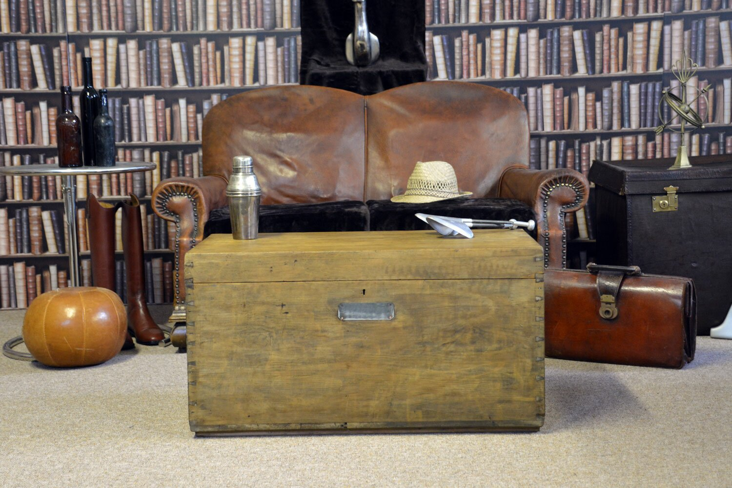 Vintage antique chest from 1923