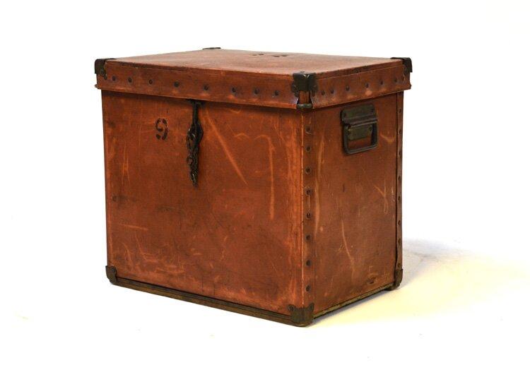Vintage Small Trunk - Circa 1910 - 1930